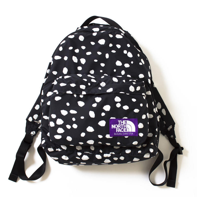 """THE NORTH FACE PURPLE LABEL """"DALMATIAN PRINT DAY PACK S"""""""