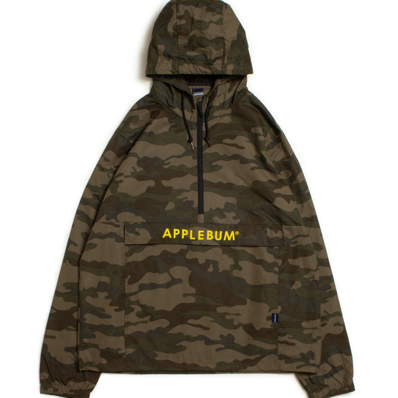 Camo Active Anorak Jacket