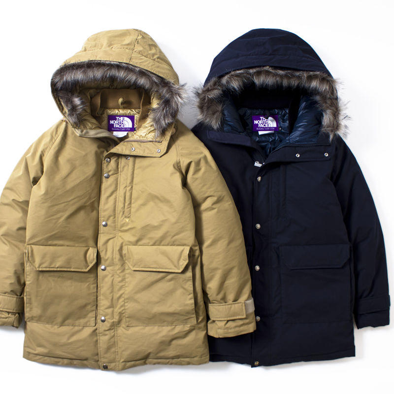 """THE NORTH FACE PURPLE LABEL """"BRUSHED 65/35 LONG SEROW"""""""