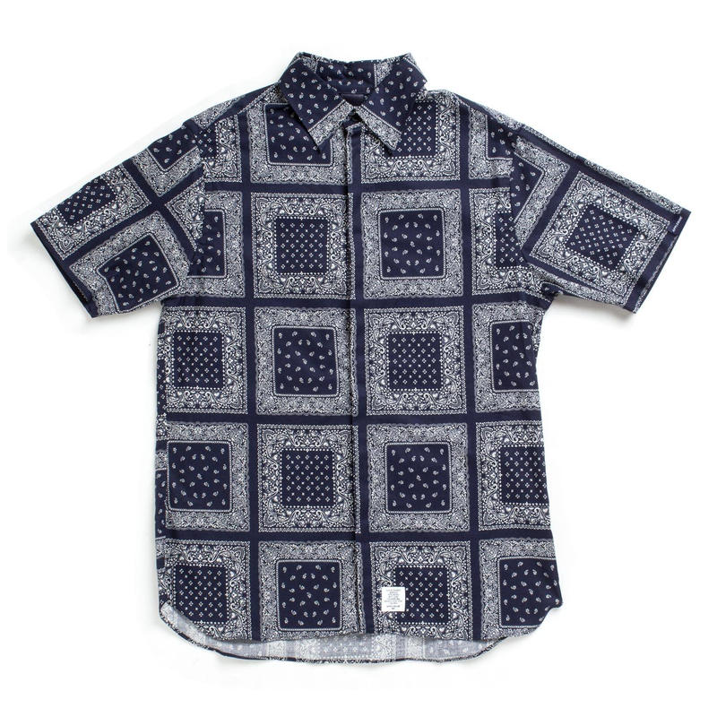 Paisley Fly Front S/S Shirt