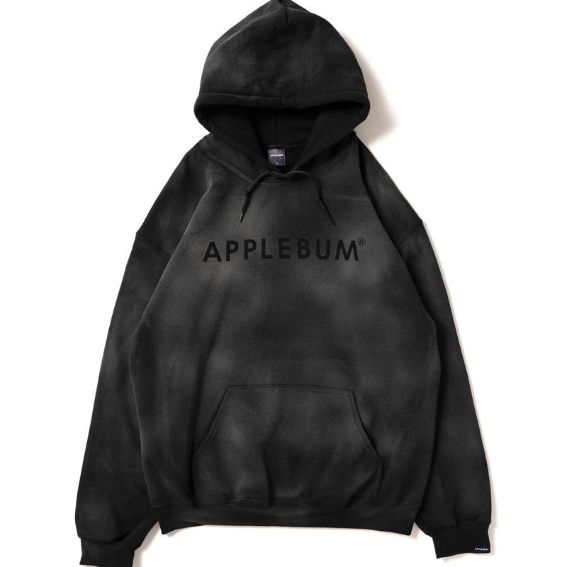 Bleach Sweat Parka [Black]