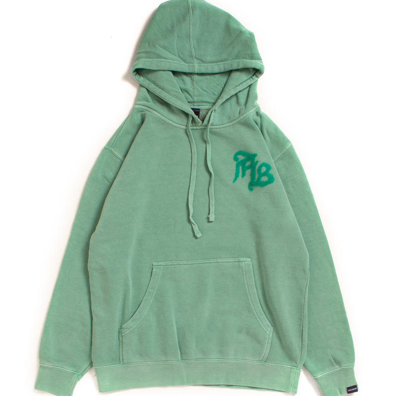 Needle Punch Pigment Sweat Parka
