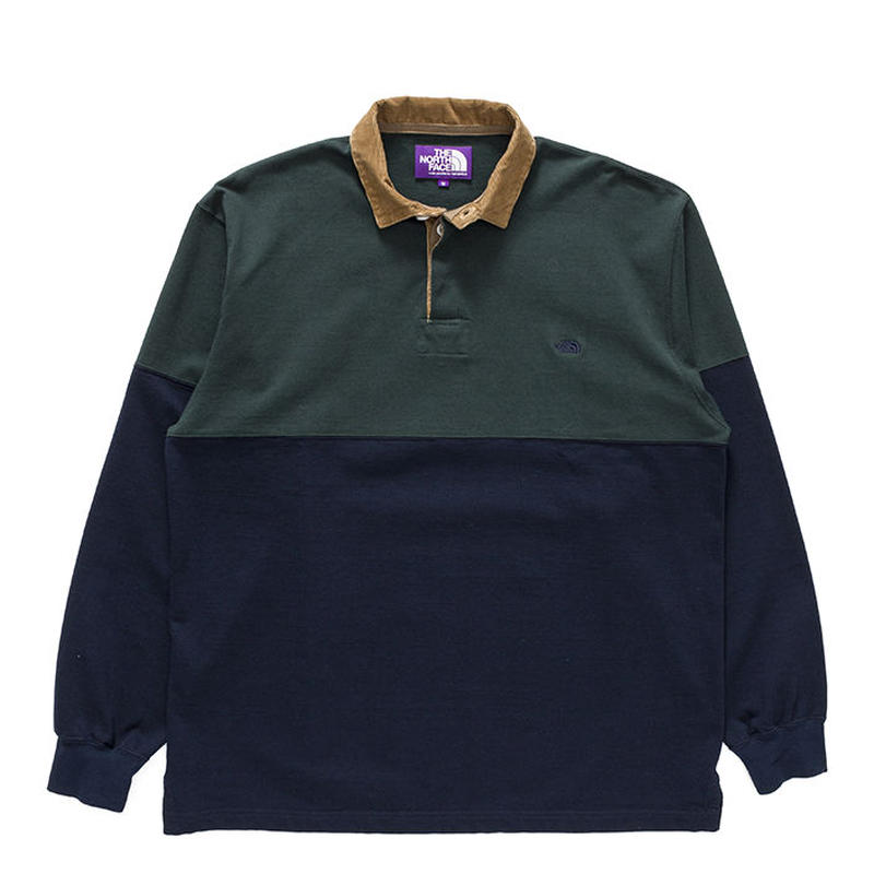 THE NORTH FACE PURPLE LABEL Big Rugby Shirt NT3856N