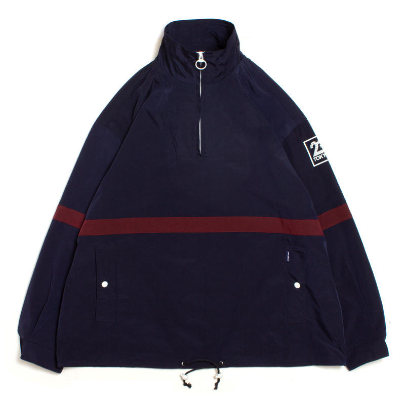 Line Pullover Jacket [Navy]