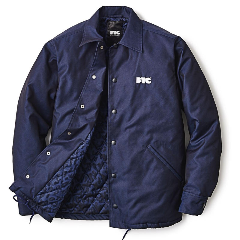 "FTC ""LEOPARD LINED COACH JACKET"""