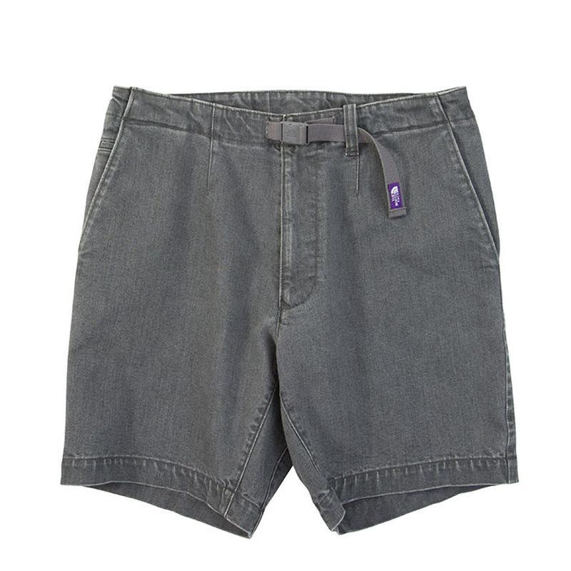 "THE NORTH FACE PURPLE LABEL ""Webbing Belt Denim Shorts"""