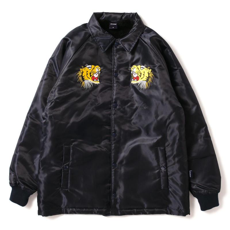 Tiger Style Boa Jacket [Navy]