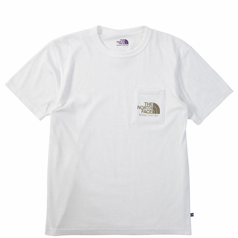 "THE NORTH FACE PURPLE LABEL ""H/S Logo Pocket Tee"""