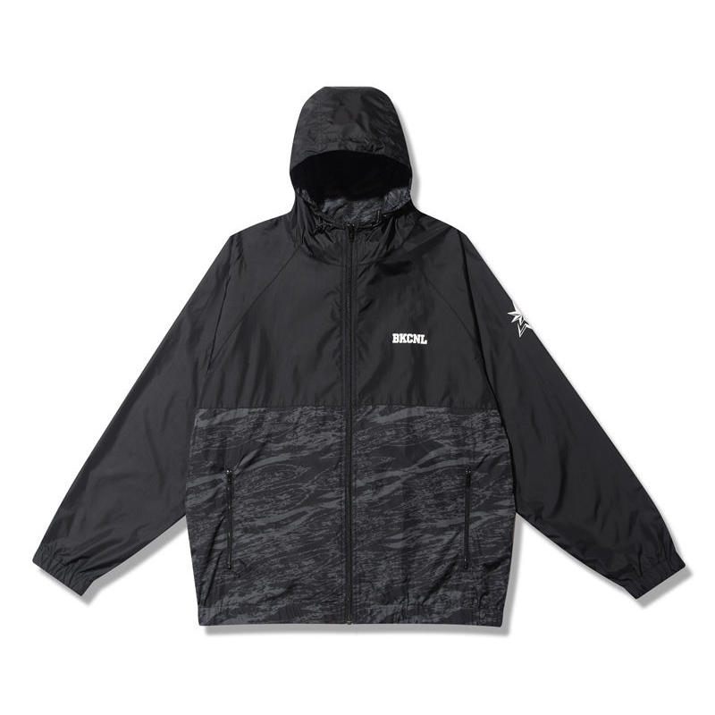 -BackChannel-NYLON HOODED JACKET