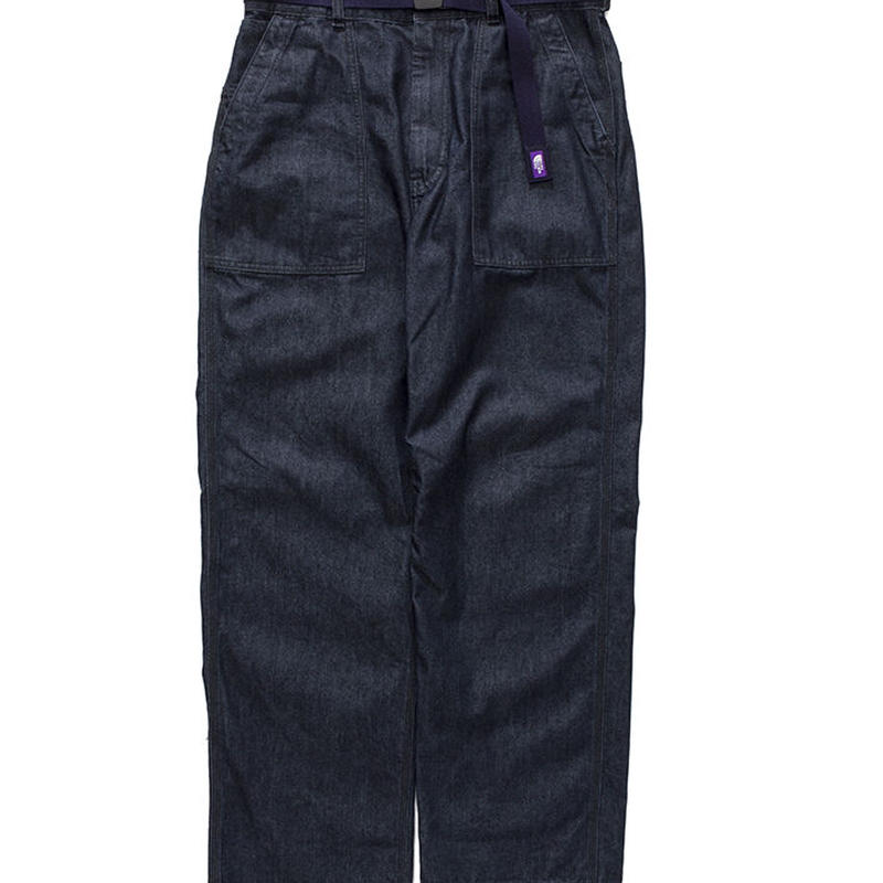 THE NORTH FACE PURPLE LABEL Denim Field Pants With Belt NT5857N