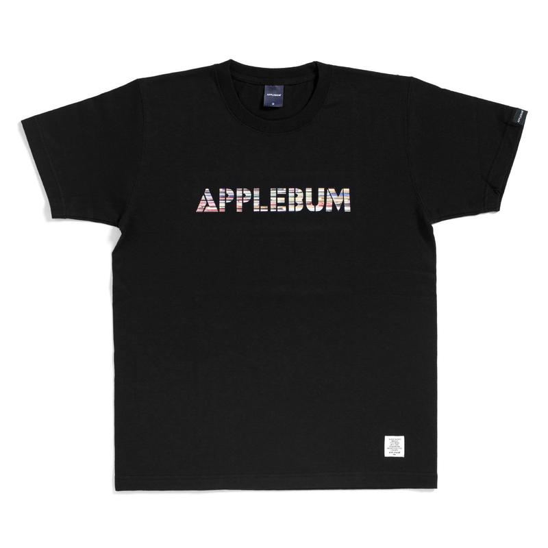 "Record Border"" T-shirt   BLACK"