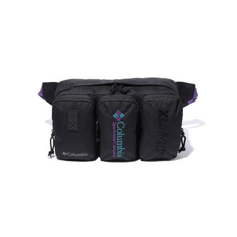 XLARGE×Columbia VIPORRIDGE XL HIP BAG