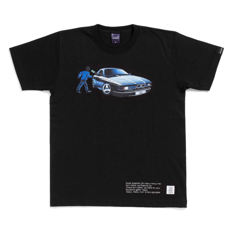 "Street Dreams"" T-shirt [Black]"