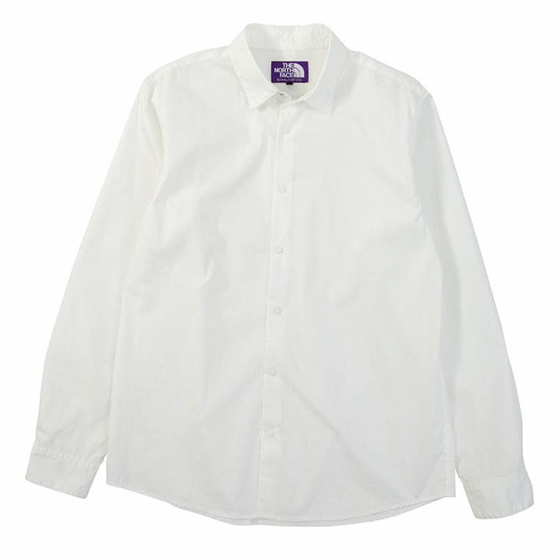 "THE NORTH FACE PURPLE LABEL ""Stretch Typewriter Shirt"""