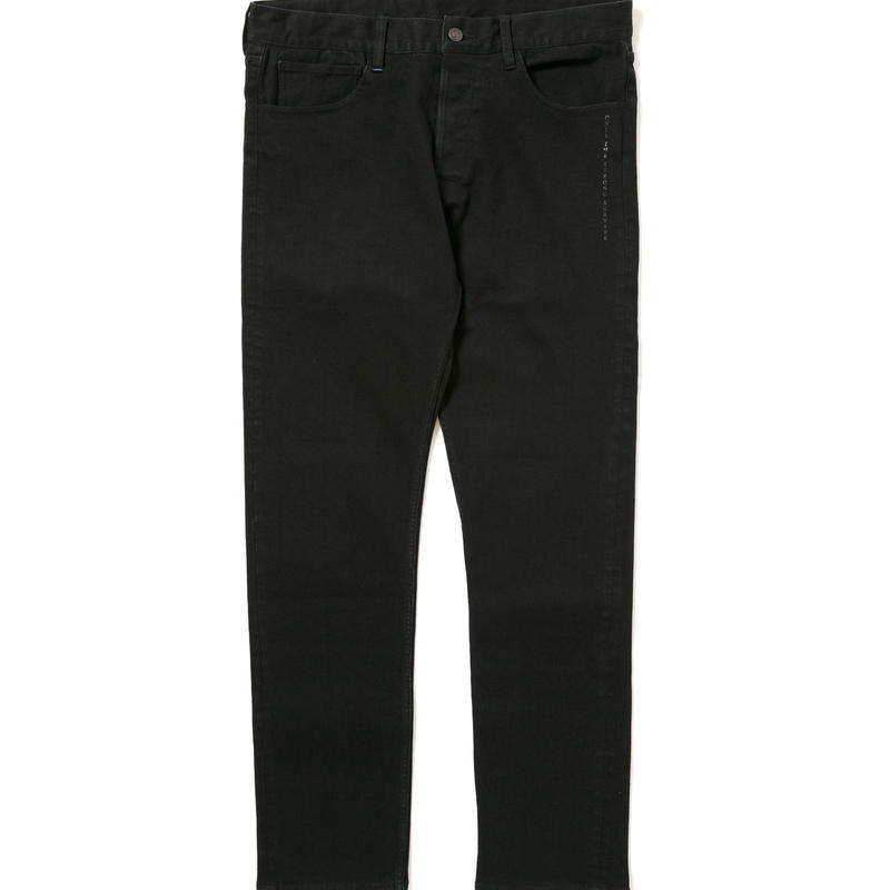 "Kate"" Slim Stretch Black Denim Pants"