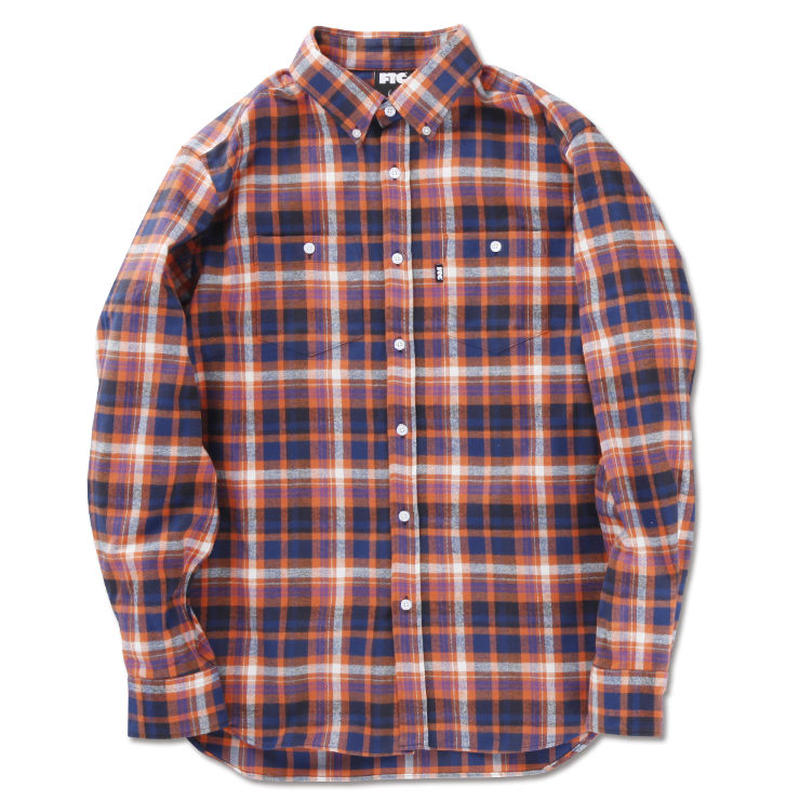 "FTC ""MADRAS NEL PLAID B.D SHIRT"""