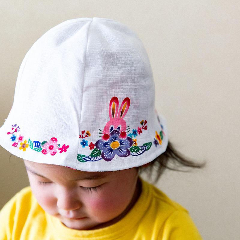 こども帽子(うさぎ)
