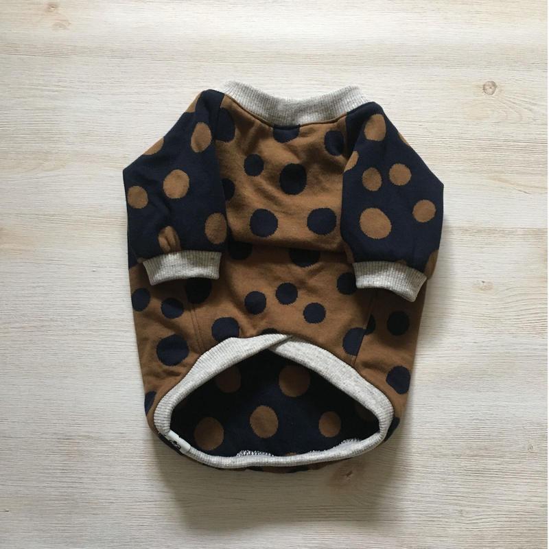ランダムドットのラグランTシャツ    [フレブル服TiTiTi]