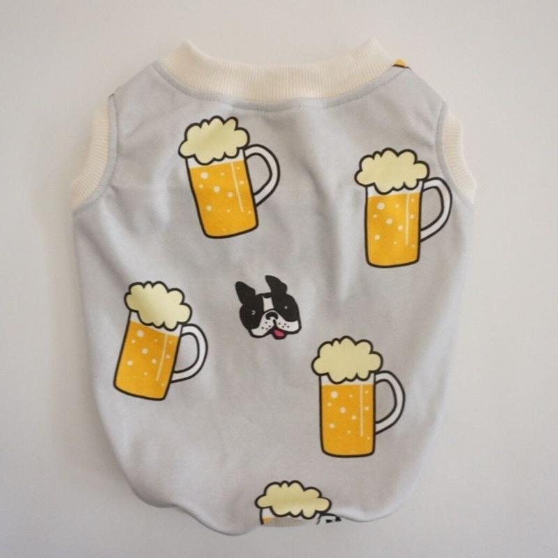 《beer》タンク//グレー       [フレブル服TiTiTi]