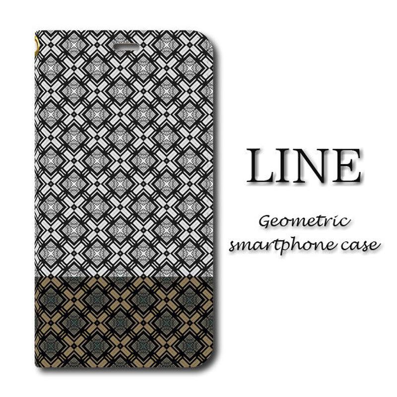LINE【(L)手帳型スマホケース】iPhone/Android