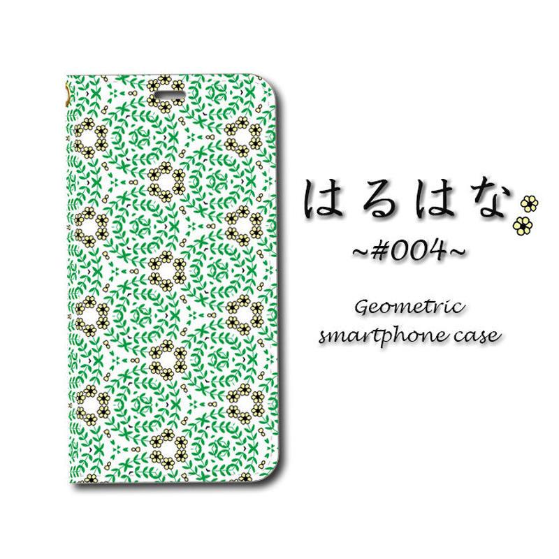はるはな #004【(S)(M)手帳型スマホケース】iPhone/Android
