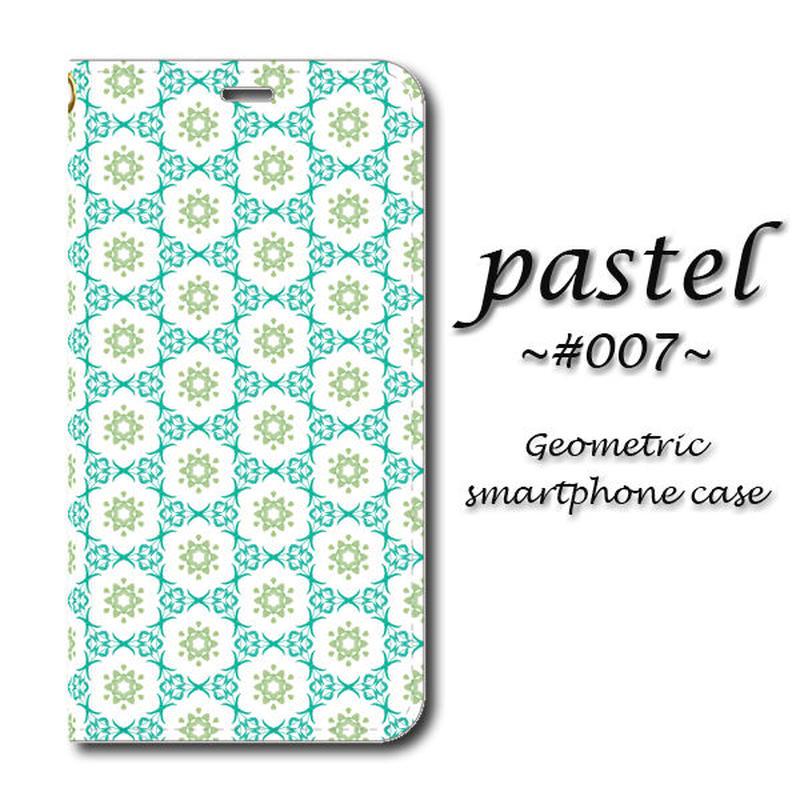 pastel #007【(L)手帳型スマホケース】iPhone/Android