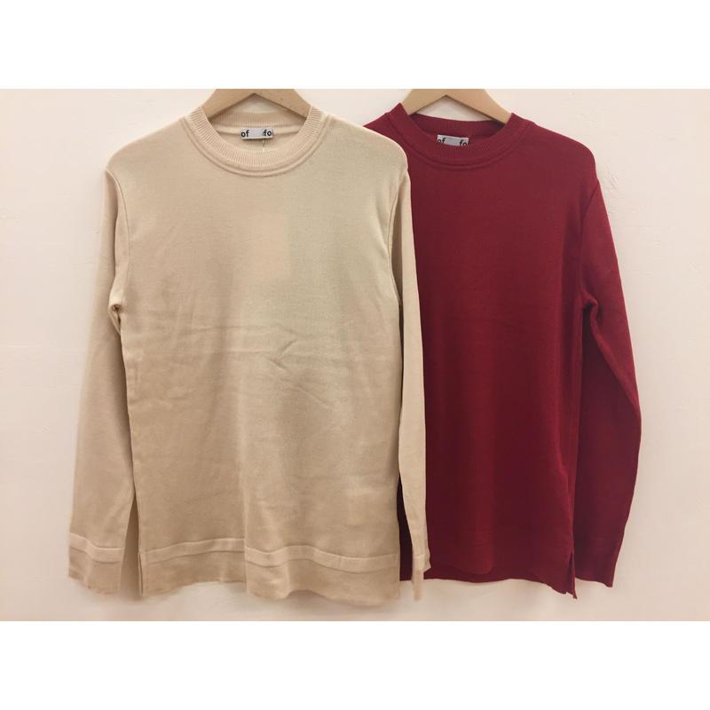 foof silk rib knit