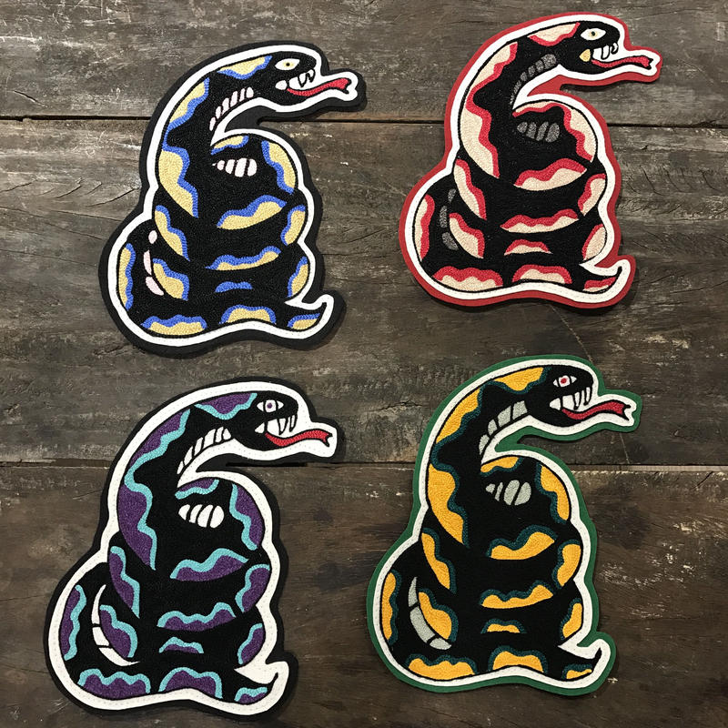 "LOT, STOCK AND BARREL ""SNAKE"" PATCH"