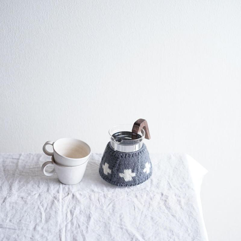 amu.さんの クロスのcoffee cozy 4cup