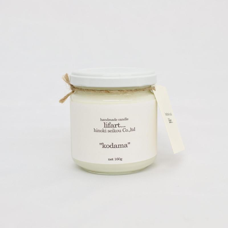 "fragrance candle ""kodama"""
