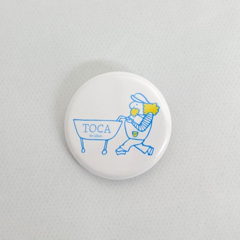 TOCA Tin Badge