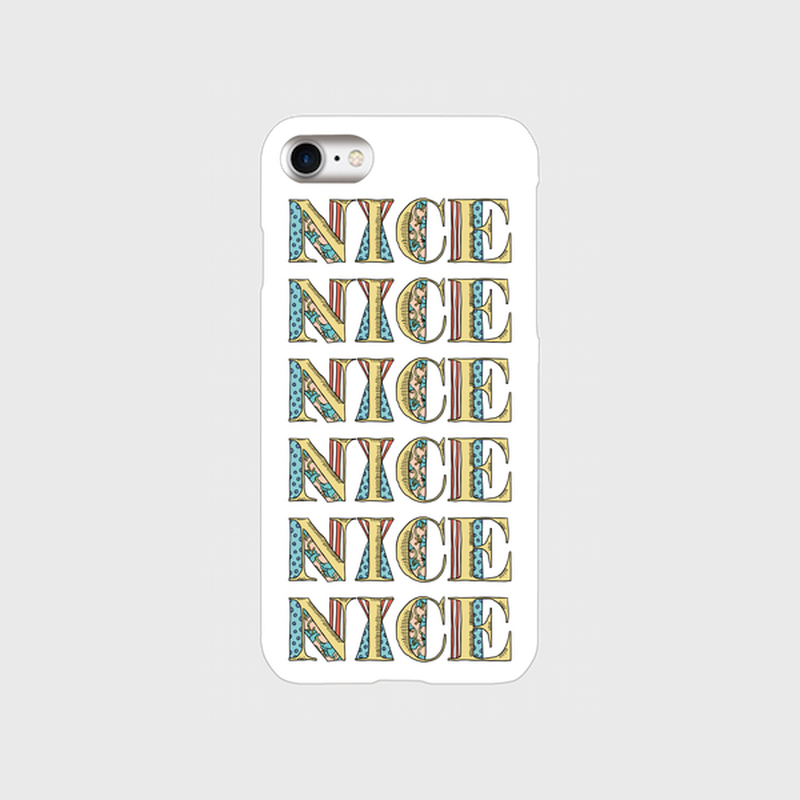 "kazaho furusho smart phone case for iPhone ""NICE"""