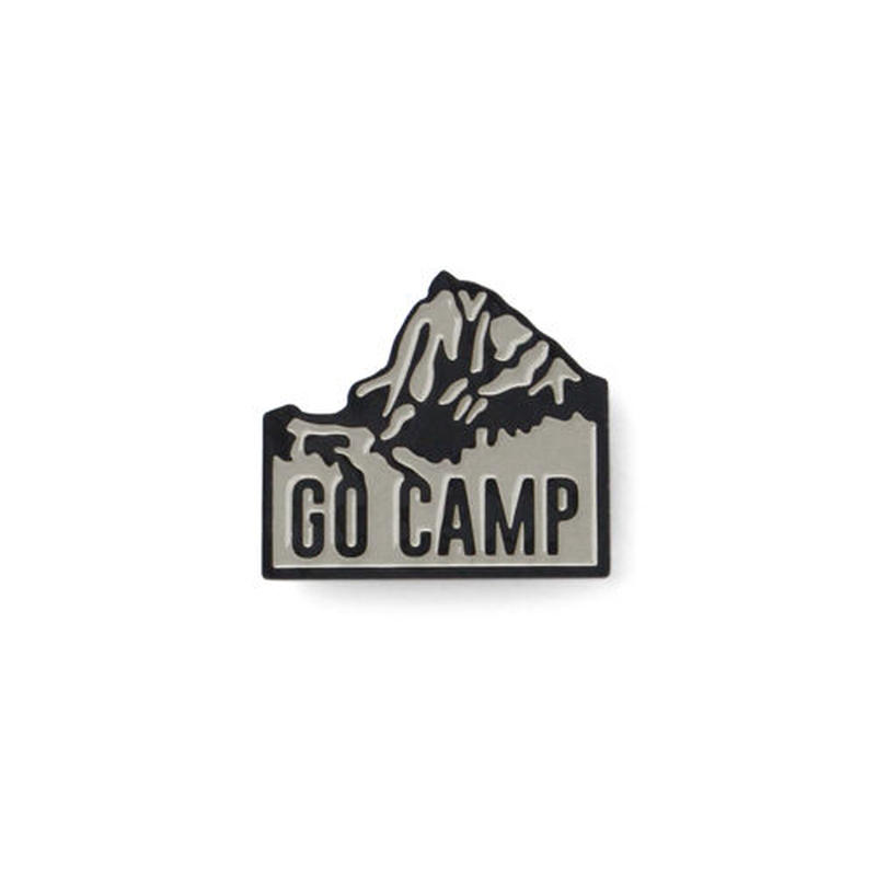"J&M Lapel Pin ""Go camp"""
