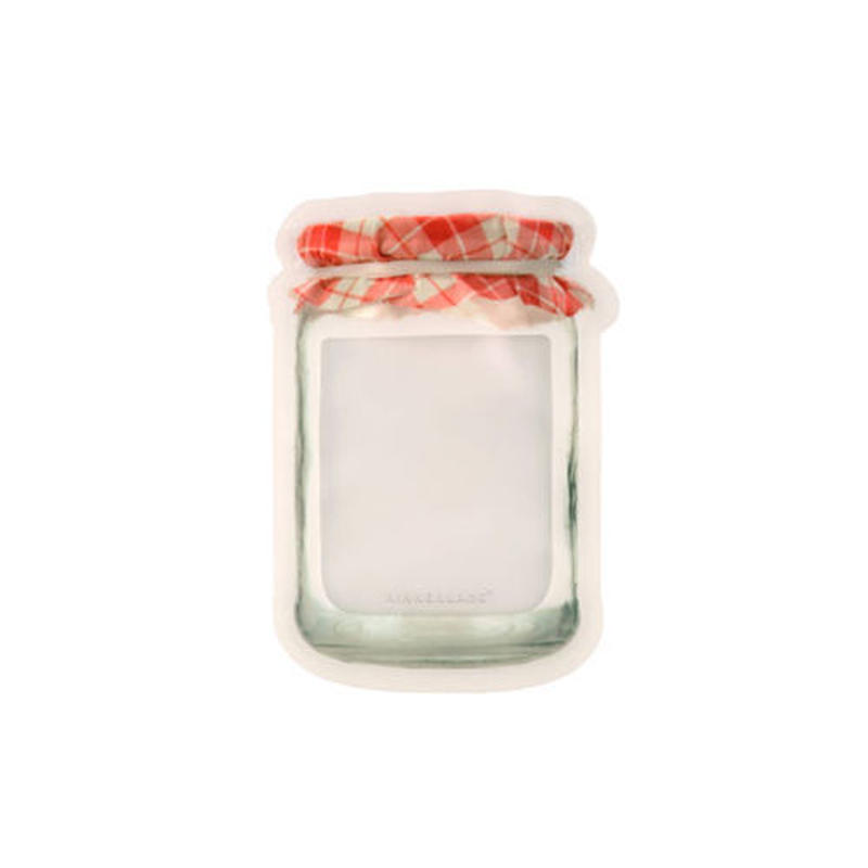 "Jam Jar Zipper Bags ""M set of 3"""