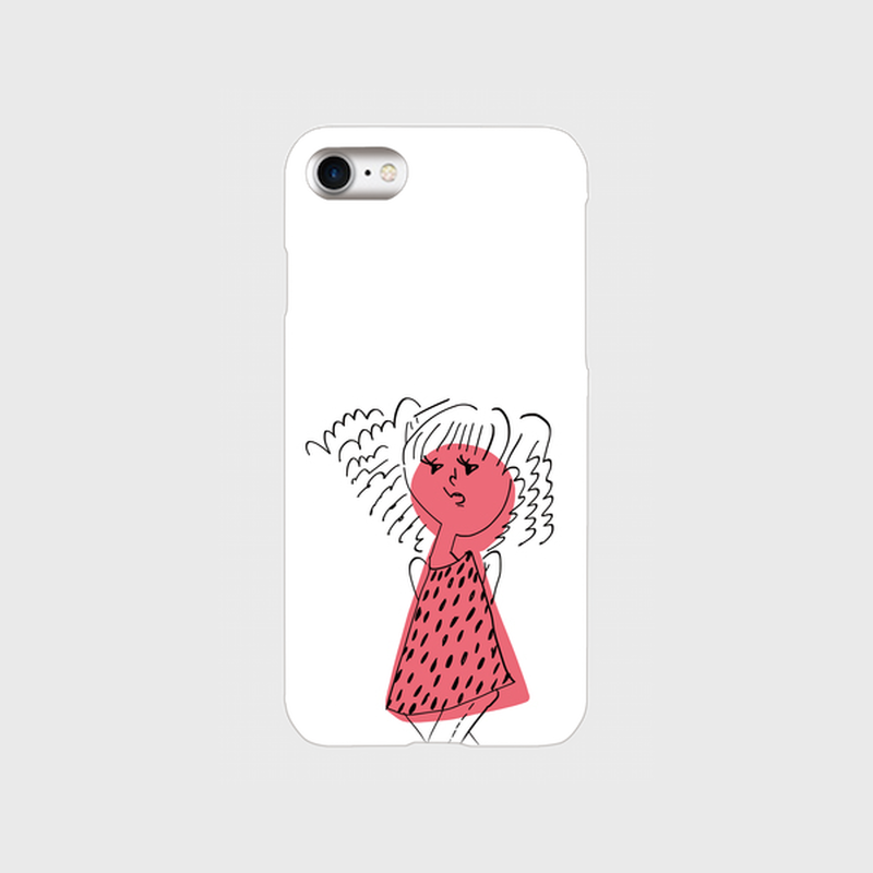 "kazaho furusho smart phone case for iPhone ""おすまし"""