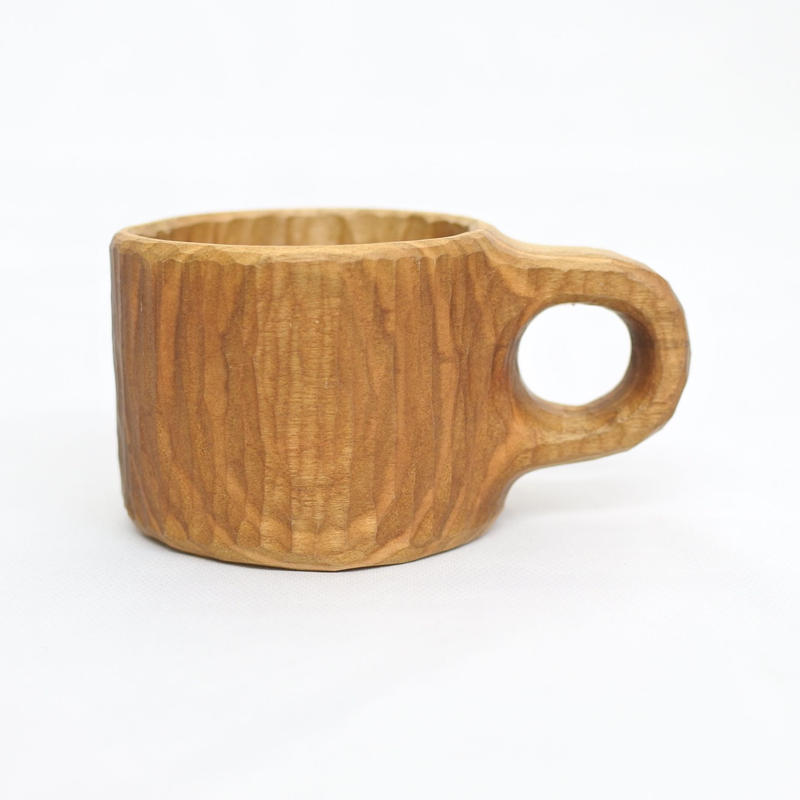 Wood Coffee Cup