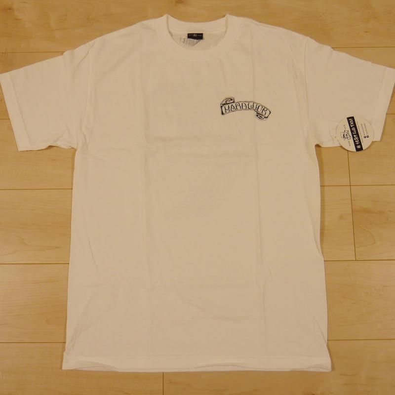"HARD LUCK ""PEACOCK"" S/S Tシャツ (WHITE"