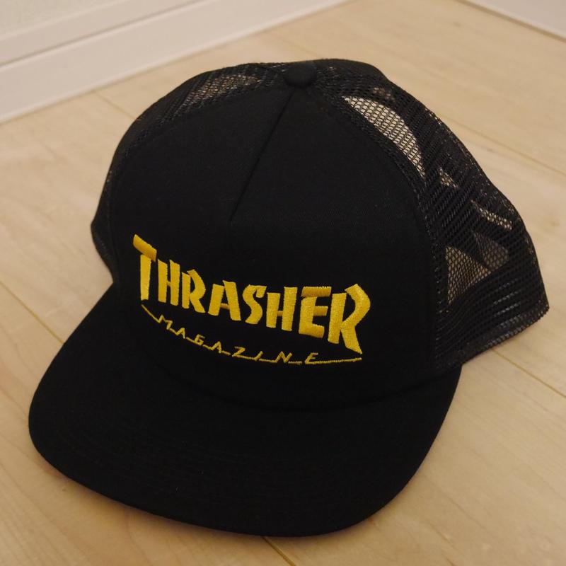 THRASHER MESH CAP/LOGO