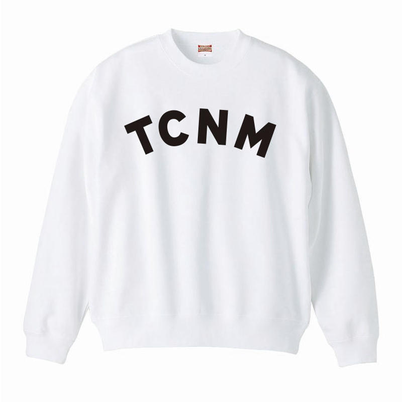 TCNM SWEATSHIRT - White