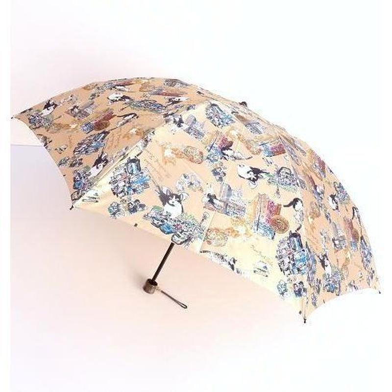 """Manhattaner's Folding Umbrella """"Picture book Mix"""""""