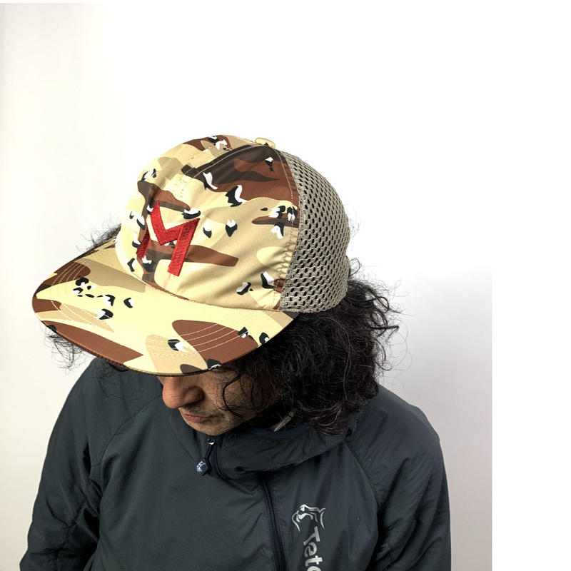 MOUNTAIN MARTIAL ARTS/Camo Mesh Run Cap
