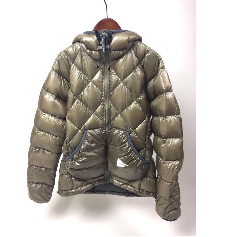 andwander/diamond stitch down jacket