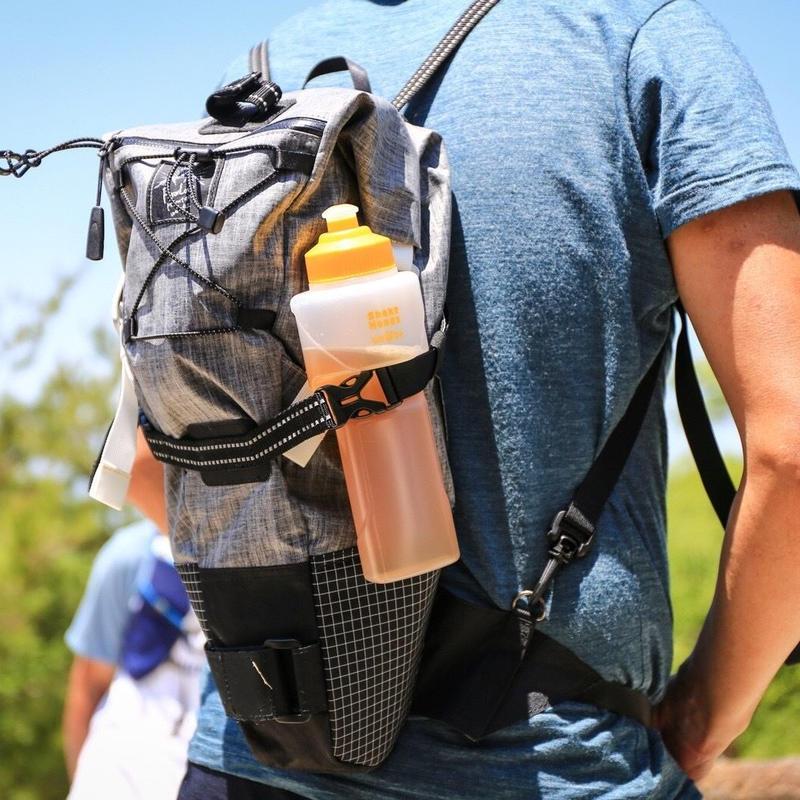 RawLow Mountain Works/Bike'n Hike Bag LS42 Black Heather edition