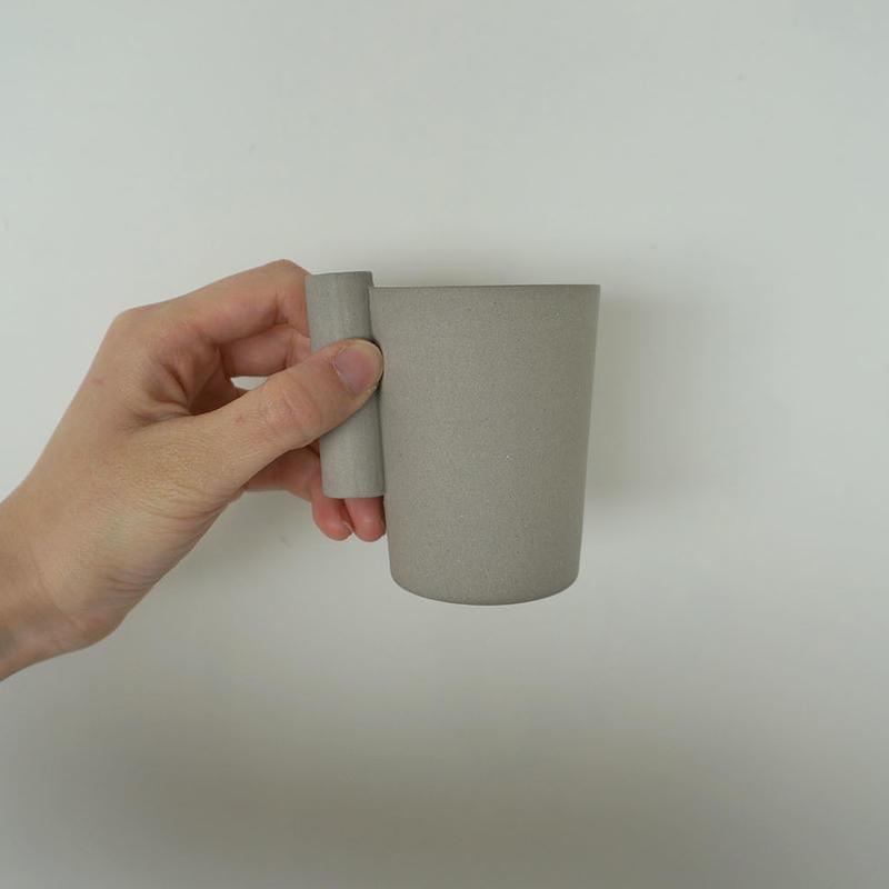 kop with handle / Oy