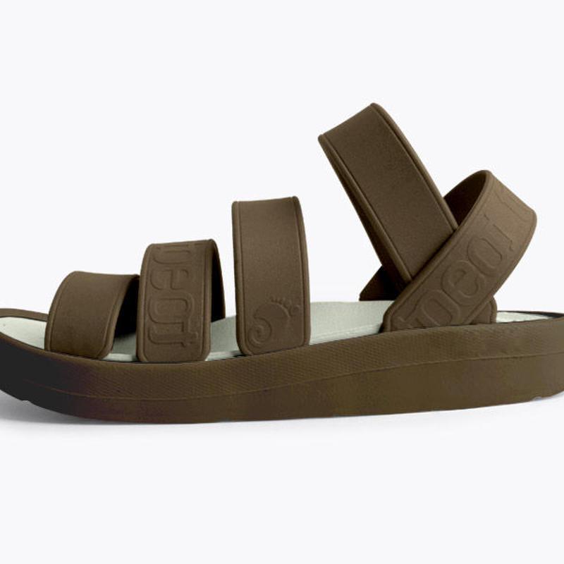 【使いやすいブラウン】トート toeot サンダル 組み合わせ自由