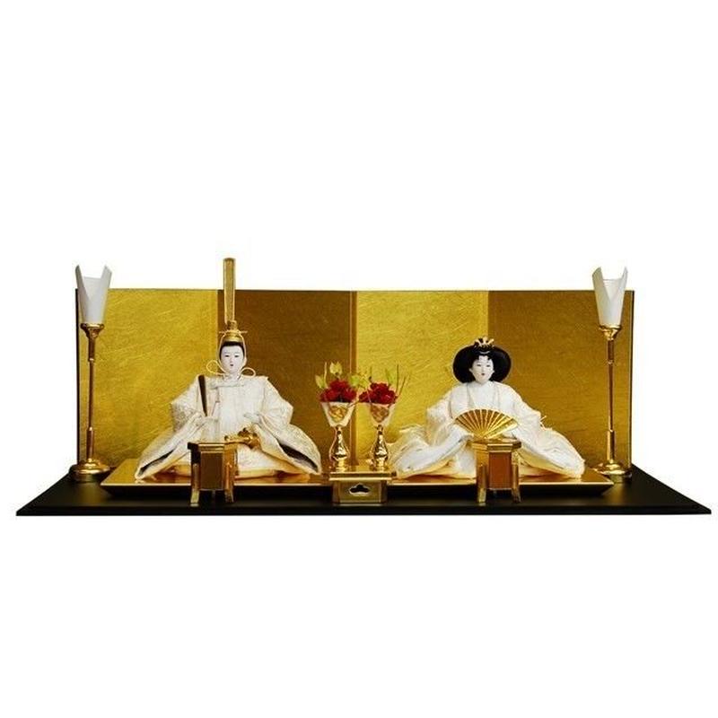 東月別誂炭胴京十二番純金箔押親王飾り