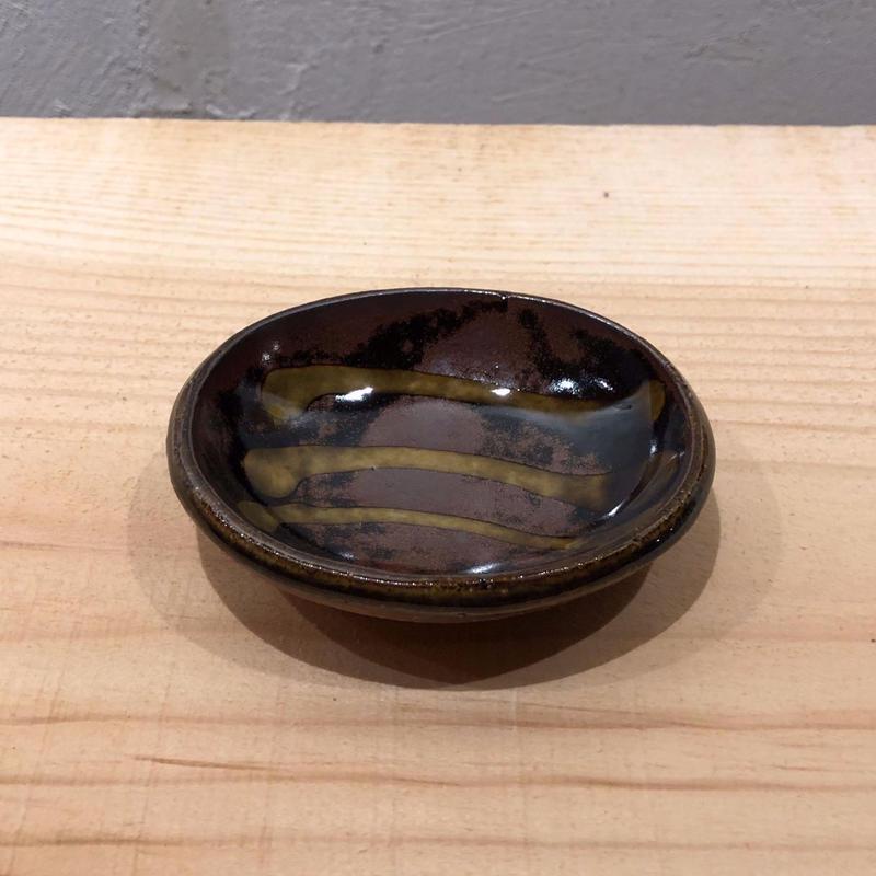齊藤十郎 豆皿(黒B)