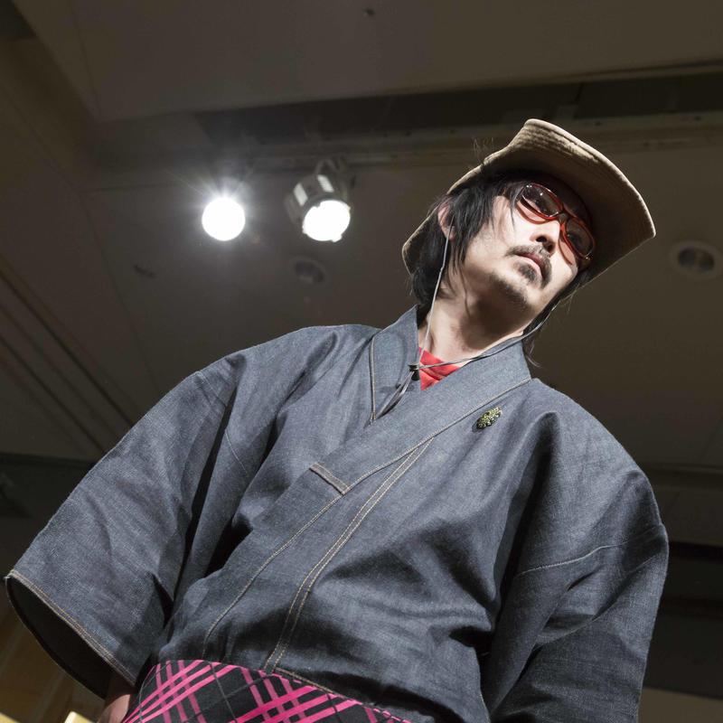 時間を切り取るデニム着物 saigetsu No.0