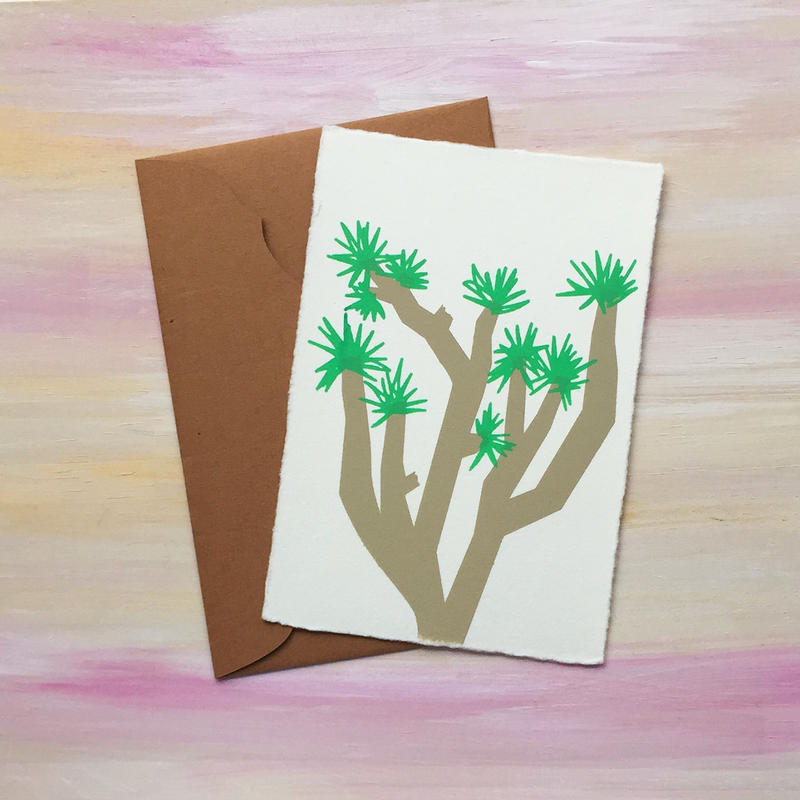 "Greeting Card ""Joshua Tree"""