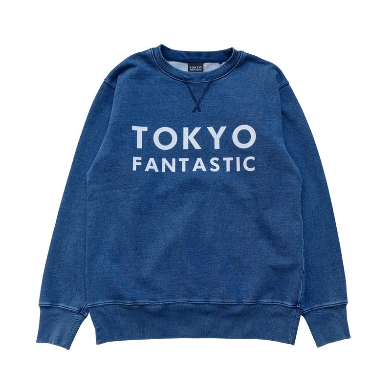 【インディゴ染め】TOKYO FANTASTIC Indigo インディゴスウェット